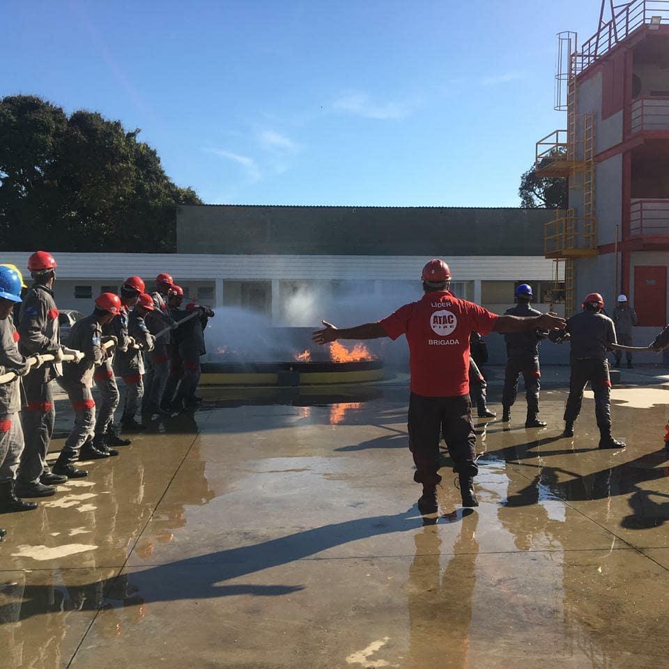 Formação de BVI (Brigada Voluntária de Incêndio)